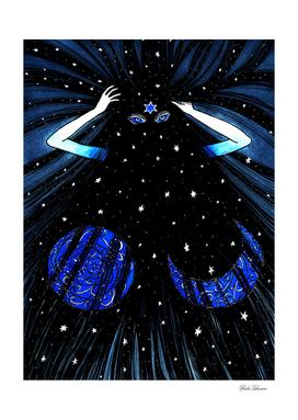 Dark Night, Blue Moon