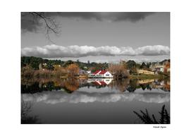 Lake Daylesford Winter Reflections