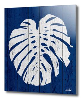 Blue Nature Dark Blue Palm2
