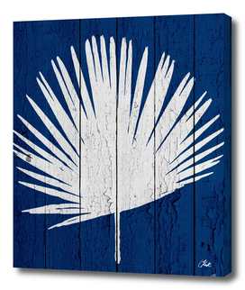 Blue Nature Dark Blue Palm3