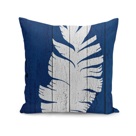 Blue Nature Dark Blue Palm8
