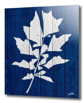 Blue Nature Dark Blue Palm6