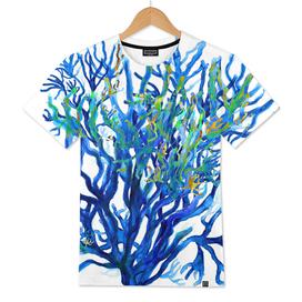 Coral Deep Blue