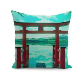 Torii with Cool Colors