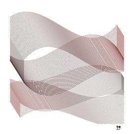 Wine abstract geometric modern