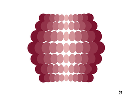 Geometric purple modern pattern