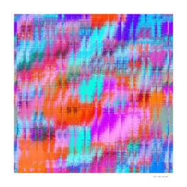 colorful painting texture abstract in pink orange blue