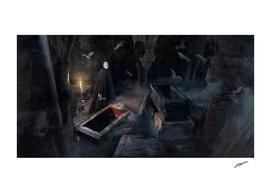 Dracula's crypt