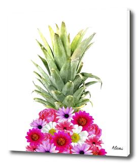 Pineapple Flowers