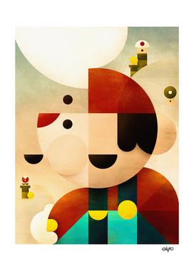 Minimal Super Mario