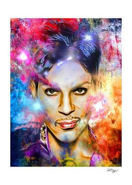 Prince Painted Portrait