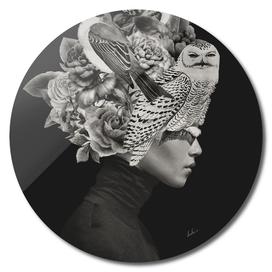 Lady with Birds(portrait)