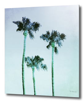 PASTEL PALM TREES no3