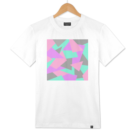 Bright and colorful geometric design