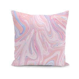 Pink marble look
