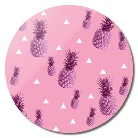 Pink pineapple pattern