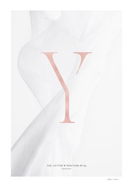 Y | ROSEGOLD LETTER COLLECTION
