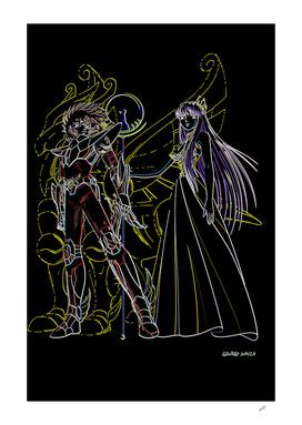 Seiya&Saori
