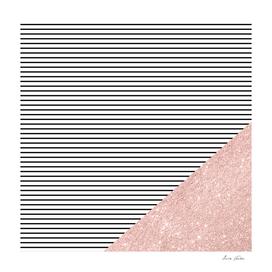 Stripes and glitter