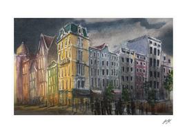 Watercolor Amsterdam 02