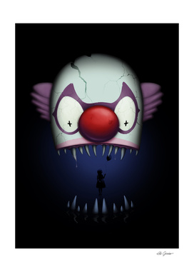 Dark lake Clown