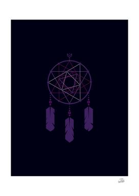The Purple Dreamcatcher