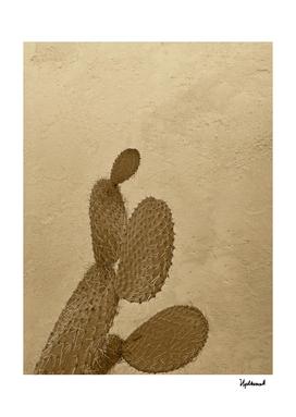 Old Desert Cactus