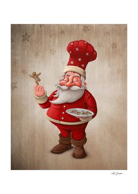 Santa Claus pastry
