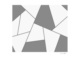 Abstract geometric pattern - gray.
