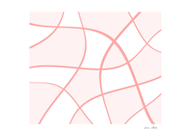 Abstract pattern - pink.