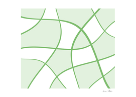 Abstract  pattern - green.
