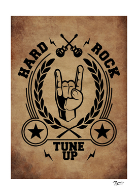 hard rock vintage