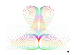 White scandinavian rainbow minimal