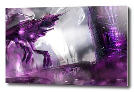 Purple Lift Off