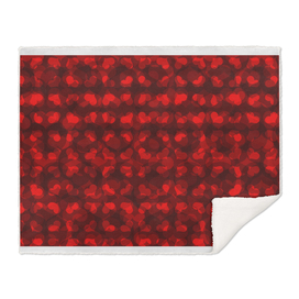 Red heart vector pattern