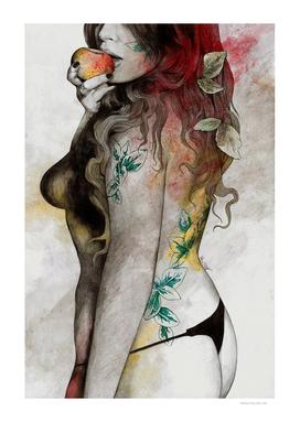 Koi No Yokan (sexy tattoo girl in thong)