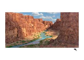 Gran Canyon Landscape