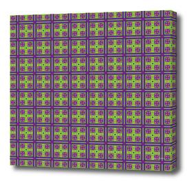 Colorful geometrical seamless pattern in the Bulgarian