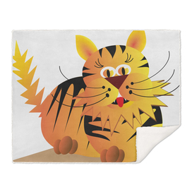 cat, tiger, tomcat,