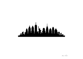 skyline di New York