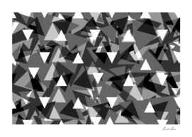 Triangle background - gray,