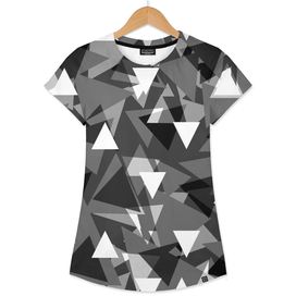 Triangle background - gray,
