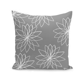 Grey Floral design
