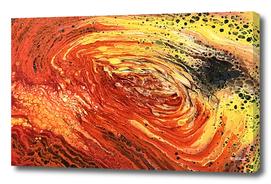 Fire Geode