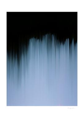Dramatic Blue Shadow