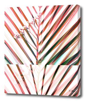 coloured pop art palleaves