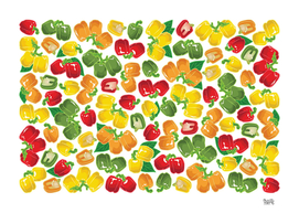 Bell pepper multicolor