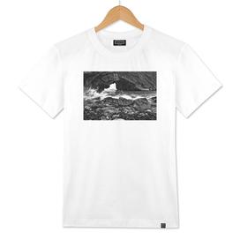 Ocean Window Black & White