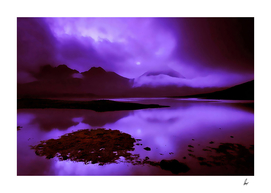 Scottish Loch Eerie Purple