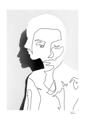 Portrait (Line Drawing )
